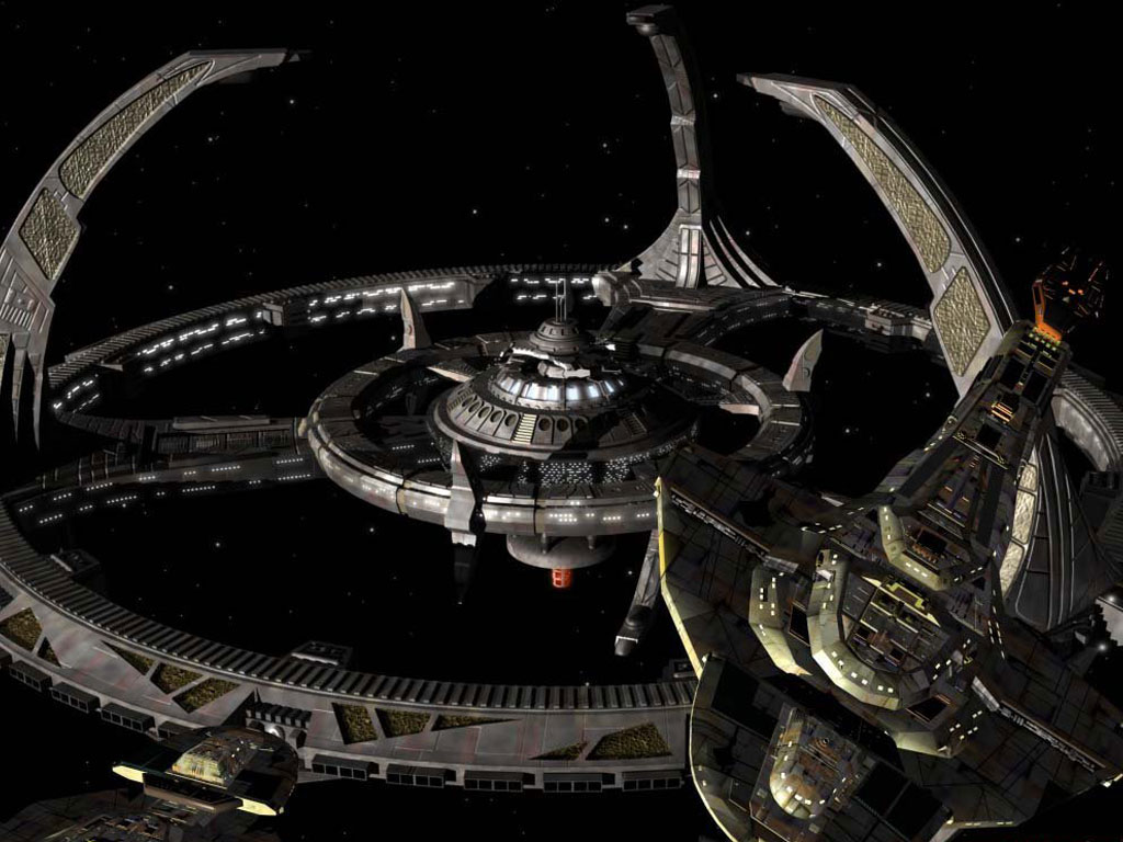 the new ds9 space station - photo #5