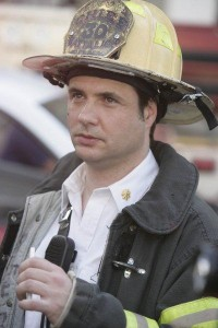 Adam as Chief Needles on Rescue Me