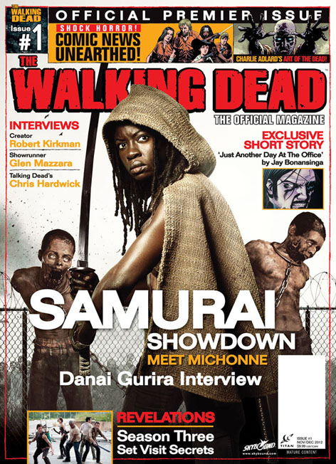 The Walking Dead Magazine Issue 1!